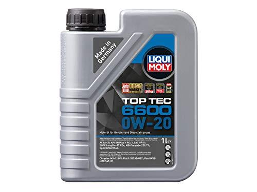 LIQUI MOLY 21440 Top Tec 6600 0W-20 1 l