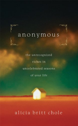 Anonymous: Jesus' hidden years...and yours (English Edition)