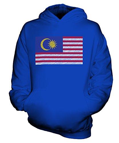 Candymix - Bandera de Malasia Scribble – Sudadera con capucha unisex para niños y niñas