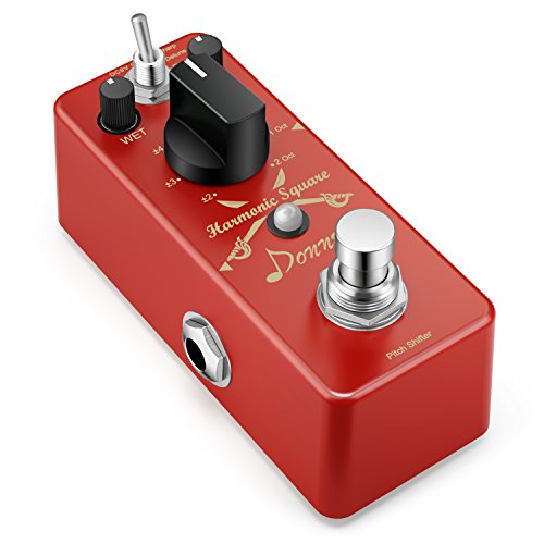 Donner Digital Octave Guitar Effect Pedal Harmonic...
