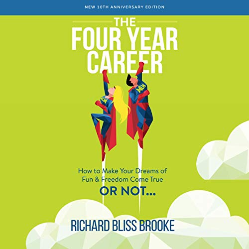 The Four Year Career audiobook cover art