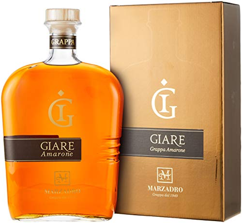 Marzadro Grappa le Giare Amarone in Geschenkverpackung (1 x 2.0 l)
