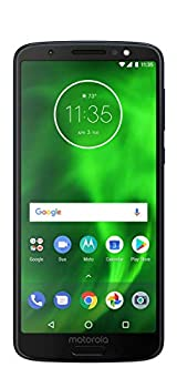Motorola Moto G6 XT1925-6 Smartphone GSM Unlocked and Verizon 32GB Black Certified Renewed