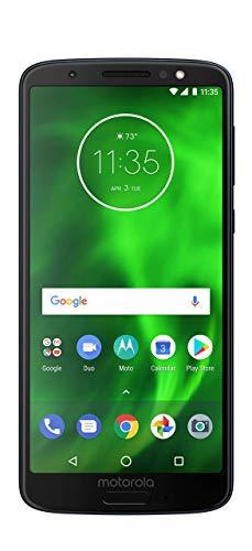 sprint prepaid moto es Motorola Moto G6 XT1925-6 Smartphone GSM Unlocked and Verizon 32GB Black Certified Renewed