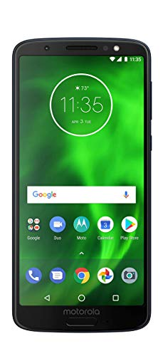 Motorola Moto G6 XT1925-6 Smartphone GSM Unlocked and Verizon 32GB  Black Certified Renewed