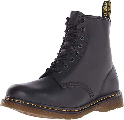 Dr. Martens, 1460 Original 8-Eye Leather Boot for Men and Women, Black Nappa, 11 US Women/10 US Men
