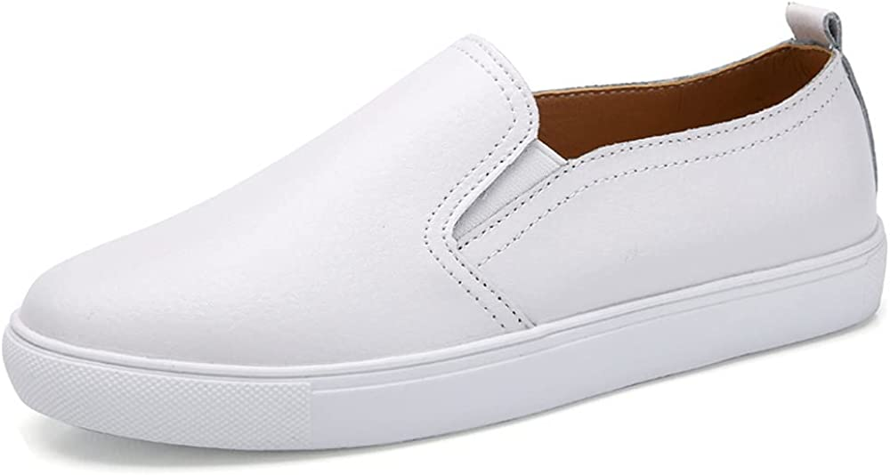 Women's Shoes Loafers Casual Lazy Shoes Small White Shoes
