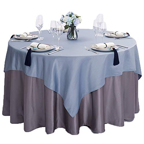 YUYAXPB polyester tafelkleed, geplooide ronde tafelrok, ideaal voor bruiloft, dineren, verjaardagsfeest, kerst en restaurant, feesten, catering evenement