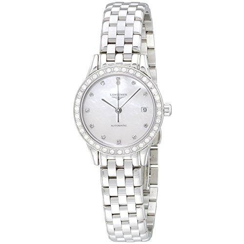 Longines Les Grandes Classique L42740876 - Reloj automático de señora con esfera de nácar