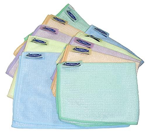 Aqua Clean Kristall Sonnenschein Geschirrtücher 10er Set