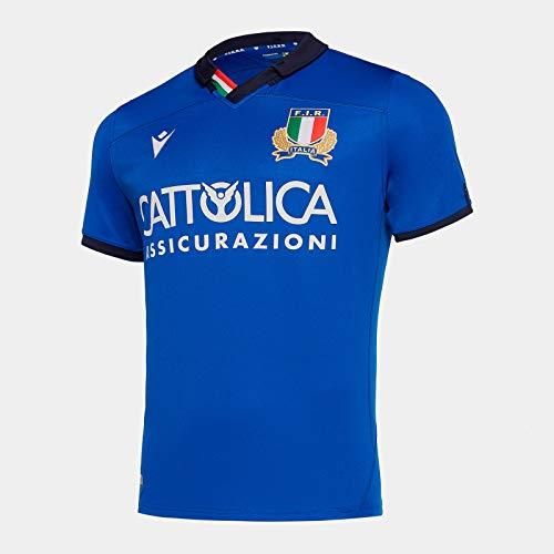 Macron Maglia Junior Ufficiale Fir Italia Rugby - 58100101 (JS)