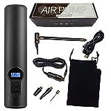 STEELMATES Compressore Aria, Portatile, Digitale USB Silenziato Schermo LCD & LED, 150 PSI...