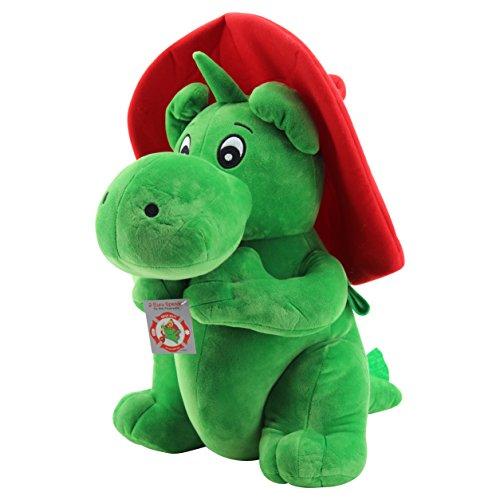Sweety Toys 7745 Drache GRISU Feuerwehr Maskottchen Plüsch ca. 50 cm