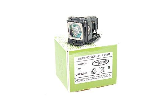 Alda PQ-Premium, Beamerlampe/Ersatzlampe kompatibel mit 6103349565, POA-LMP115 für Eiki LC-XB31, LC-XB33, LC-XB33N SANYO LP-XU88, LP-XU88W, PLC-XU75, PLC-XU78 Projektoren, Lampe mit Gehäuse