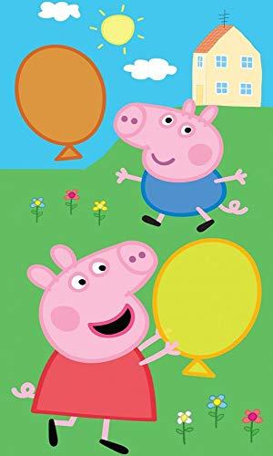 Peppa Pig PP182056 - Toalla infantil (30 x 50 cm), diseño de Peppa Pig