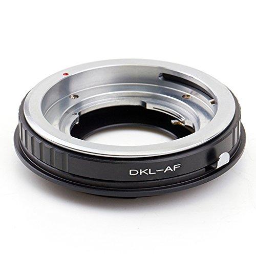 Pixco Pro - Adaptador de montura de lente para Voigtlander Retina DKL a Sony Alpha A58 A550 A33 A900 A350 A33 A55 A35 7D 5D
