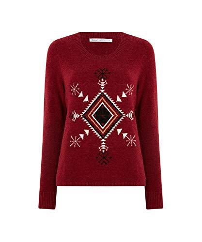 Woolrich - Maglione da donna - Rosso - L