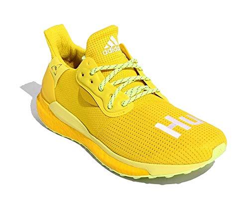 adidas PW SOLARHU GRYSCALE - Zapatillas de correr para hombre, color amarillo, color Amarillo, talla 42 2/3 EU