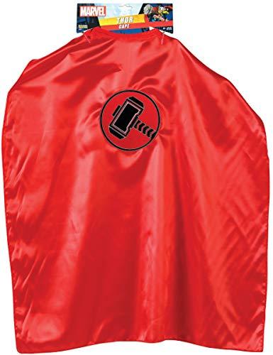 Rubies Costume Co- Cape Thor disfraz, Color rojo, talla única (I-G36007)