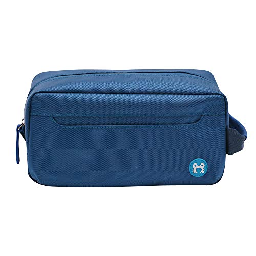 bagSy Crab Your Bag - Trousse de Toilette de haute qualité   Nécessaire de Toilette   Trousse de Maquillage   Plusieurs Compartiments, ultralégère, imperméable et spacieuse   (Bleu)