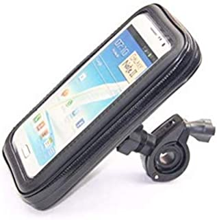 Bike Bicycle Handle Phone Mount Cradle Holder Cell Phone Motorcycle Handlebar Waterproof bag Case For CellPhone XL 6.3inch