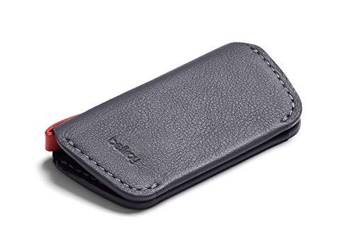 Bellroy・ベルロイ Leather Key Cover Second Edition キーケース 本革 (鍵4つまで収納可) - Graphite