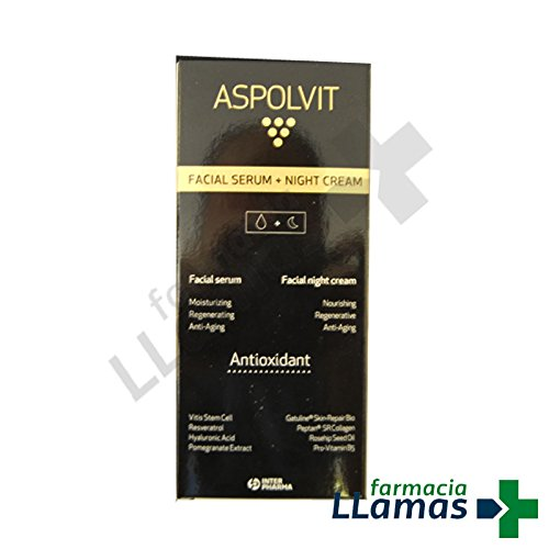 Interpharma S.A. ASPOLVIT PACK SERUM FACIAL + CREMA NOCHE