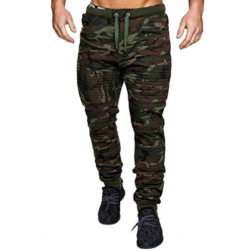 Homme Pantalon Pantalon de Camouflage WINJIN Pantalon De Travail Casual Cargo Chino Jeans Sport Jogging Slim Fit Pantalon Coton Décontracté à Taille élastique Long Pants Skinny Stretch en Denim