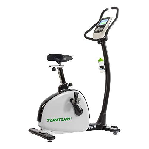 Tunturi E80 Bike Endurance, Unisex-Adult, Gris/Blanco, Talla única ✅