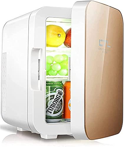 LSWY Mini refrigerador compacto refrigerador y calentador, nevera pequeña de 12V DC / 220V CA con 0-65  Función de enfriamiento y calentamiento, para dormitorio, cuidado de la piel, oficina, bebidas,