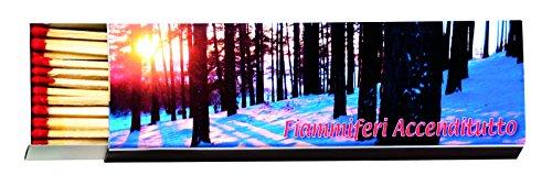 Scopri offerta per Best Fire 16104 Fiammifero di Lunghezza, Legno