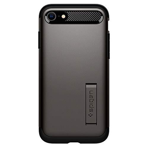 Coque Slim ArmorTM compatible avec iPhone SE (2020) / 8/7 - Gris