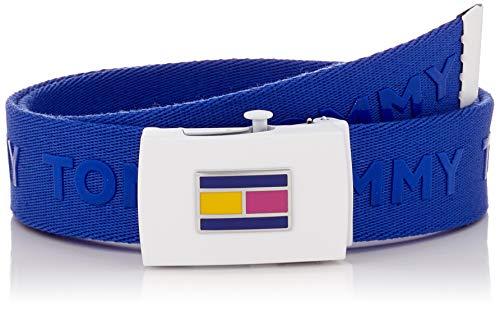 Calvin Klein Kids Webbing Belt Cintura, Blu, Small (Taglia Produttore:) Bambino