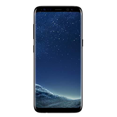 Samsung Galaxy S8 Smartphone, Midnight Black, 64GB espandibili [Versione Italiana] (Ricondizionato)