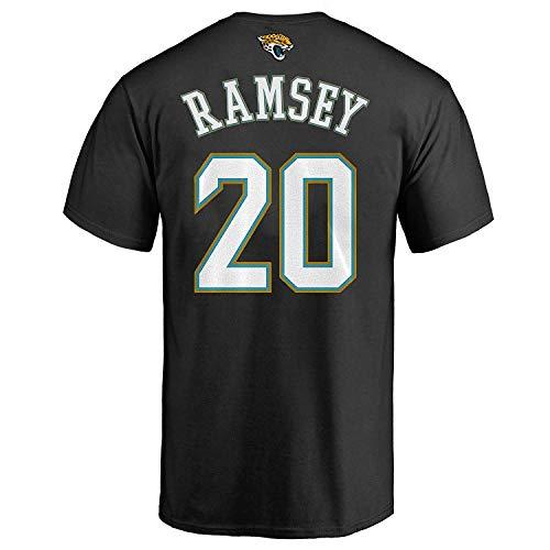 Outerstuff Jalen Ramsey Jacksonville Jaguars #20 Black Youth Performance Name & Number Shirt (Medium 10/12)