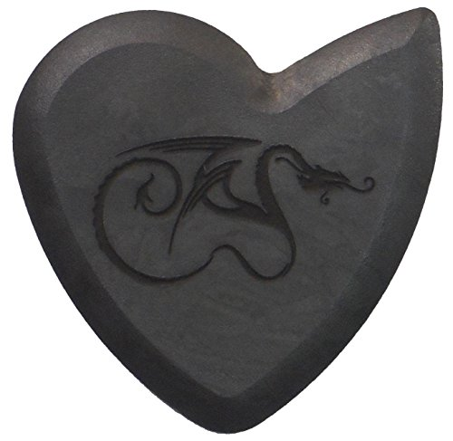 Original Dragon's Heart Guitar Pick - 1000 Hours of Durability, 2.5mm Thickness, Single Pack