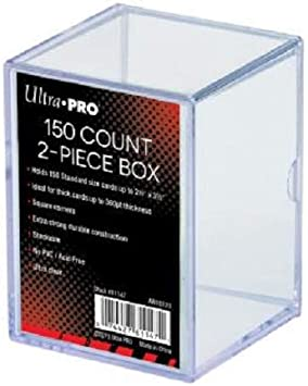 Solid Blue NEW ULTRA PRO Deck Box Gaming Trading Cards Storage