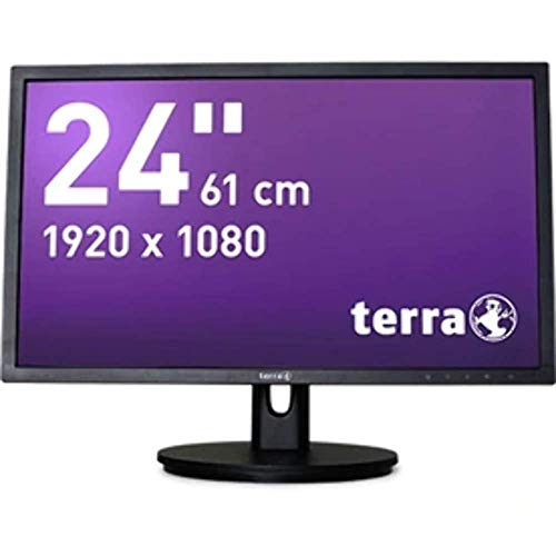Wortmann AG 2435W HA LED Display 61 cm (24 Zoll) Full HD Schwarz - Computerbildschirme (61 cm (24 Zoll), 1920 x 1080 Pixel, Full HD, LED, 5 ms, Schwarz)