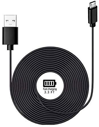 Speaker Charging Cable Compatible for Sony/Bose/UE/Beats JBL Bluetooth Speaker Power Supply Cord, Micro USB Charger Cable - 6.6FT