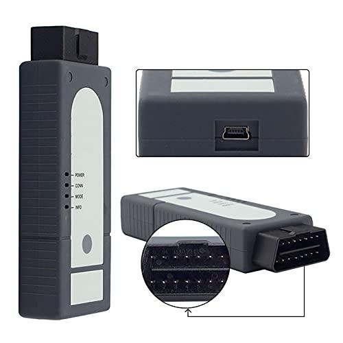 ODISソフトウェア用の検出器5.1.3Wifi検出器の簡単なインストール最新のワイヤレス通信WLANテクノロジーを採用して、リモート診断ヘッド5054Aと診断インターフェース5055を置き換え、車両診断インターフェースのワイヤレスデータ送信を実現します。同時に、6154はUSBモジュール送信をサポートして、診断インターフェースのデータ送信の信頼性を確保します