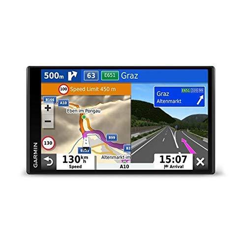 Garmin Camper 780 Mt-D Eu Navi Met Draadloze Achteruitrijcamera Bc 40 Frameloos Display, 3D-Navigatiekaarten