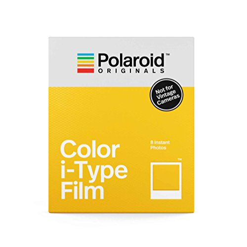 Polaroid Originals Instant-Farb-Film für I-Type, weiß (4668).