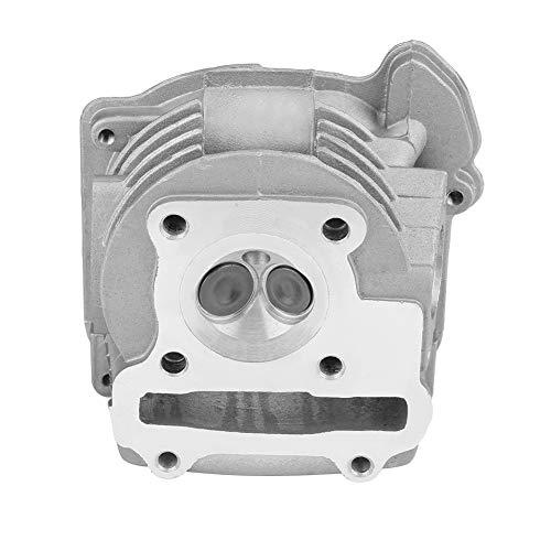 Suuonee Culata del motor, conjunto de culata del motor de 47 mm Apto para GY6 72cc 80cc 4 tiempos 139QMB/139QMA