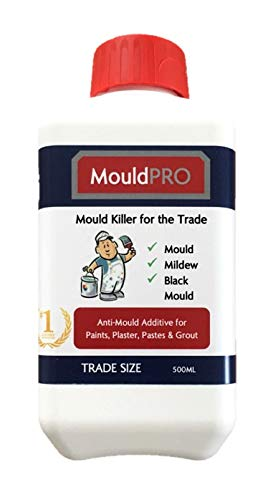 Anti Mould Paint Additive 500ml Prevents & Removes Mould from Walls Ceilings. Ideal to Treat Black...