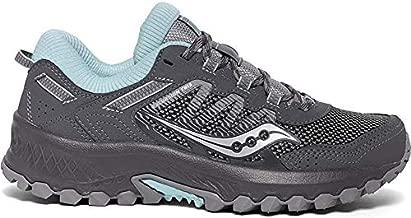 Saucony Women's VERSAFOAM Excursion TR13 Walking Shoe, Charcoal/Blue, 8.5 M US