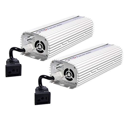 (2) QUANTUM 600W Watt HPS & MH Dimmable Digital Grow