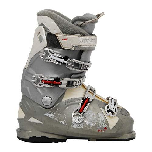 wed'ze Aluminium 10 grau skischuh