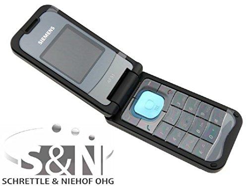 NG-Mobile Siemens AF51 Klapp Handy Mobiltelefon klein Elegant in schwarz