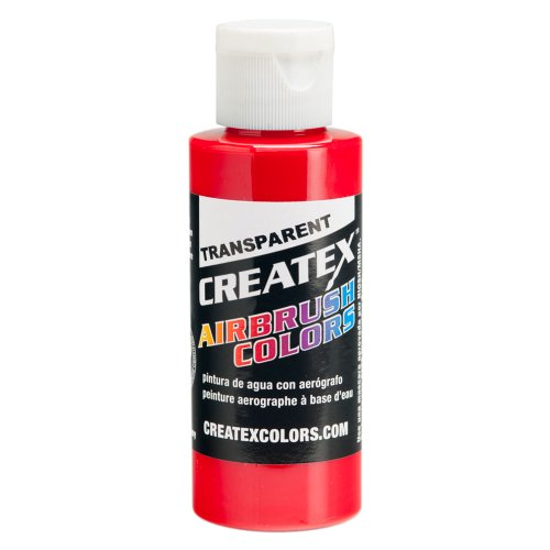 Farbe CREATEX Airbrush Colors Transparent 5117 Brite red