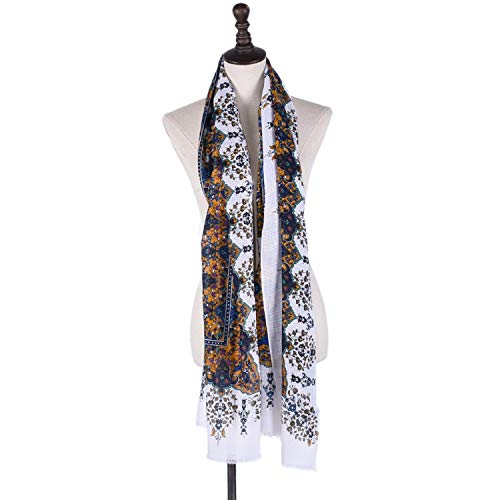 Bufanda harry potter Bufandas Enceinte algodón y lino retro de estilo étnico...